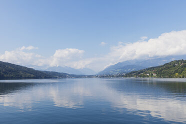 Millstatt Lake, view towards Seeboden, Carinthia, Austria - GWF06083