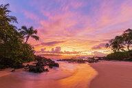 Secret Beach at sunset, Maui, Hawaii, USA - FOF10870