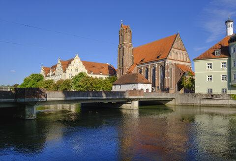 Heilig-Geist-Kirchel, Isar, Landshut, Niederbayern, Bayern, Deutschland - SIEF08653