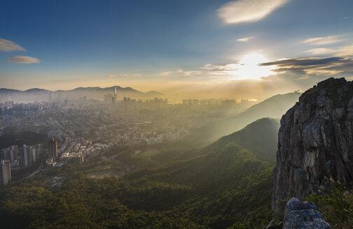 Lion Rock Country Park and Kowloon, Hong Kong, China - HSIF00655