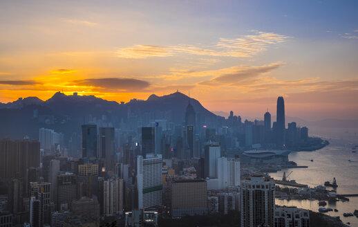 Central Hong Kong skyline, Hong Kong, China - HSIF00688