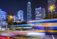 Hong Kong Central at night, Hong Kong, China - HSIF00703