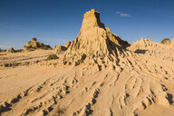UNESCO World Heritage Mungo National Park, part of the Willandra Lakes Region, Victoria, Australia - RUNF02540