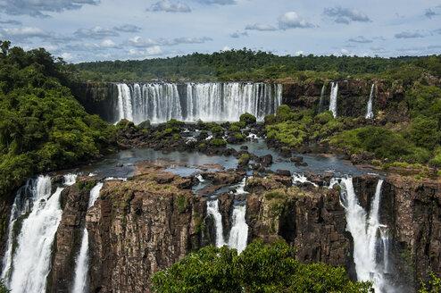 Unesco world heritage sight, Foz de Iguazu, largest waterfalls in the world, Brazil - RUNF02542