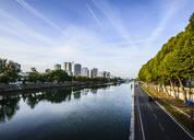 Paris city skyline along Seine River, Paris, France - MINF12027