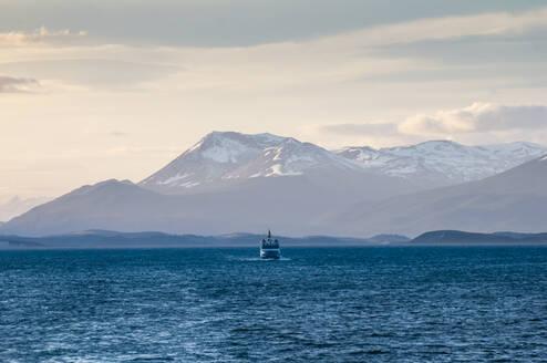 Beagle channel, Tierra del Fuego, Argentina, South America - RUNF02784