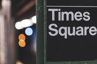 Times Square subway station, Manhattan, New York City, USA - MMAF00992