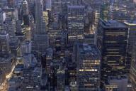 Cityscape at night, Manhattan, New York City, USA - MMAF01022