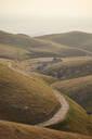 Winding valley road, Tehachapi, California, United States - ISF21647