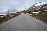Empty road in Norway - RJF00818
