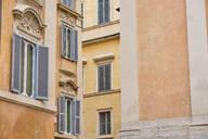 House corners, Rome, Italy - MRF02044