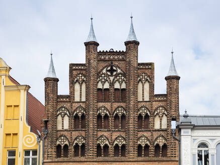 Gable of Wulflamhaus, Stralsund, Germany - WI03956