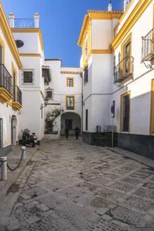 The jewish quarter near the Royal Alcazar, Seville, Spain - TAMF01553
