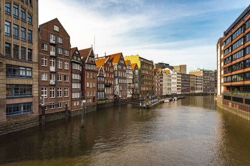 Nikolaifleet, Speicherstadt, Hamburg, Germany - TAMF01610