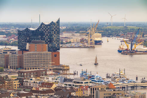 View of Ebphilharmonie, Hamburg, Germany - TAMF01628