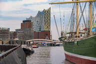 Landing Stages and Elbphilharmonie, Hamburg, Germany - TAMF01634