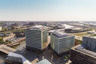 Cityscape with Hafencity and Der Spiegel building, Hamburg, Germany - TAM01643