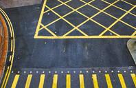 Road markings, Central District, Hong Kong, China - MRF02102