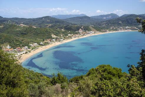 Kerkyra area with Agios Georgios Beach near Porto Timoni beach - TAMF01707