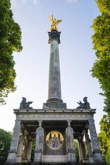 Friedensdenkmal mit Friedensengel, Bogenhausen, München, Oberbayern, Bayern, Deutschland - SIEF08756
