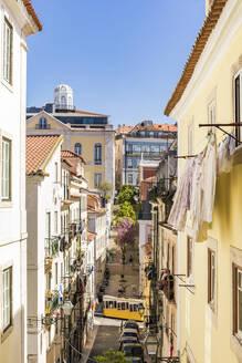 Portugal, Lissabon, Stadtzentrum, Altstadt, Stadtteil Bairro Alto, Elevador da Bica, Standseilbahn - WDF05288