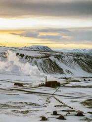 Iceland, Krafla thermal power plant - TAMF01765