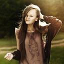 Caucasian woman smiling in field - BLEF09843