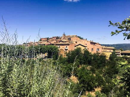 Roussillon, town, France, Vaucluse - SBDF04009
