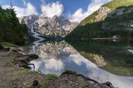Pragser Wildsee, Braies Dolomites, Alto Adige, Italy - STSF02111