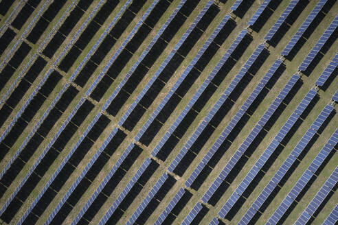 Solar field from above, Virginia, USA - BCDF00413