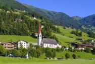 Parish church St. Ingenuin and Albuin, Hippach, Ziller valley, Tyrol, Austria - SIEF08792