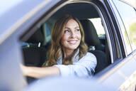 Woman in a car - PNEF01755