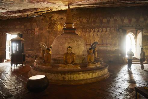 Cave temple, Dambulla, Sri Lanka - CV01335