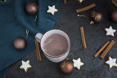 Cup of Hot Chocolate at Christmas time - JUNF01693