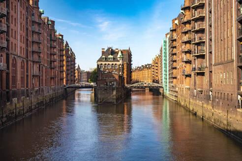 Water castle, Speicherstadt, Hamburg, Germany - TAMF01843