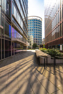 Modern buildings at the Hafencity in Hamburg - TAMF01858