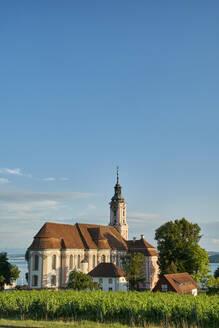 Germany, Baden Wuerttemberg, View of Birnau Basilica - ELF02043