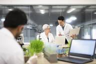 Environmental scientists working in laboratory - HEROF37370