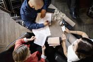 Business people meeting in restaurant - HEROF37685