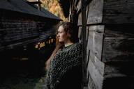 Portrait of female east european looking sideways - OGF00084