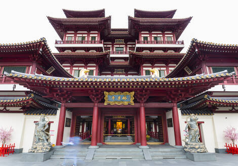 Singapore, Singapore, Buddha Tooth Relic Temple - HSIF00725