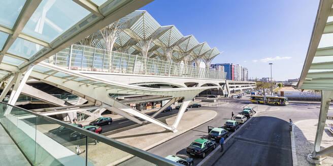 Portugal, Lissabon, Stadtteil Parque das Nacoes, ehemaliges Expo-Gelände, Bahnhof Gare Oriente, Architekt Santiago Calatravas - WD05362