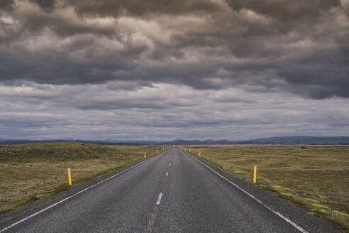 Empty country road in Iceland - UUF18688