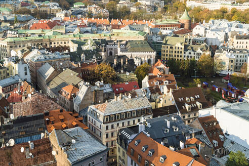 View of the old town of Riga, Latvia - TAMF02093
