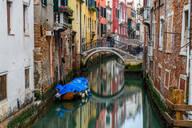 Canal in Venice, UNESCO World Heritage Site, Veneto, Italy, Europe - RHPLF00646