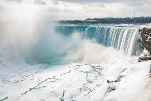 Frozen Niagara Falls, Ontario, Canada, North America - RHPLF01255