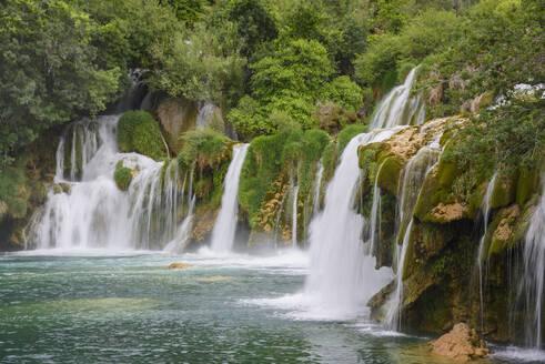 Skradinski Buk, waterfalls, Krka National Park, Croatia, Europe - RHPLF03202
