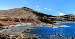 El Golfo beach, Lanzarote, Canary Island, Spain - KIJF02625