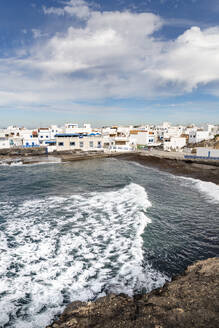 The old town of El Cotillo on the volcanic island of Fuerteventura, Canary Islands, Spain, Atlantic, Europe - RHPLF03926