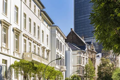 Exterior of buildings in Frankfurt, Germany - WDF05447
